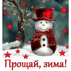 Прощай зима!
