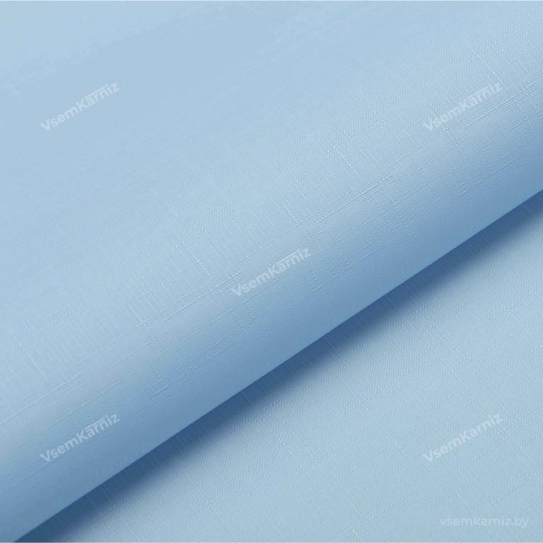 Рулонная штора LmDecor «Лайт 09» голубая