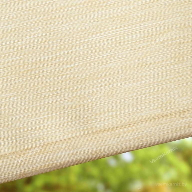 Рулонная штора LmDecor «Кантри 01» светло-бежевая