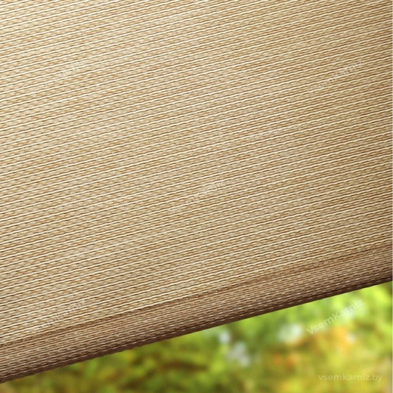 Рулонная штора LmDecor  «Камелия 02» мокрый песок