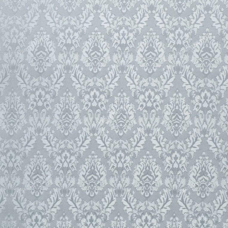 Рулонная штора LmDecor БЛЭКАУТ «Ампир 08» Серая с комплектом алюминиевых направляющих