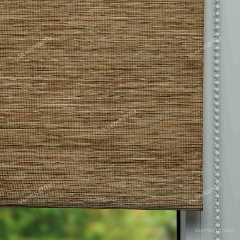 Рулонная штора «Кантри 03» с комплектом алюминиевых направляющих
