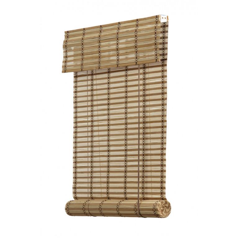 Бамбуковые рулонные шторы 01