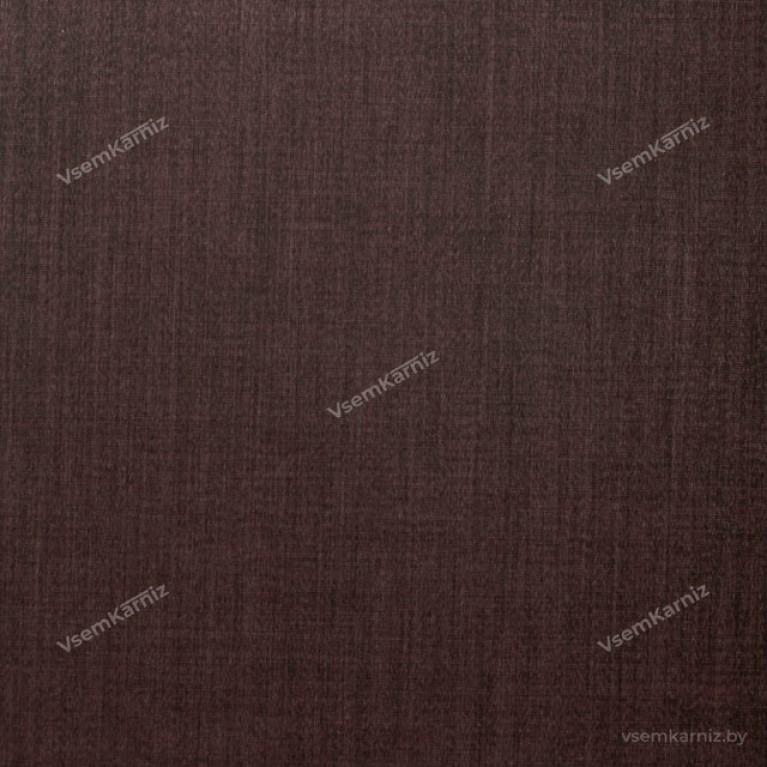 Рулонная штора LmDecor «Урбан 09» тёмно-шоколадная UNI 2 в алюминиевом коробе с направляющими