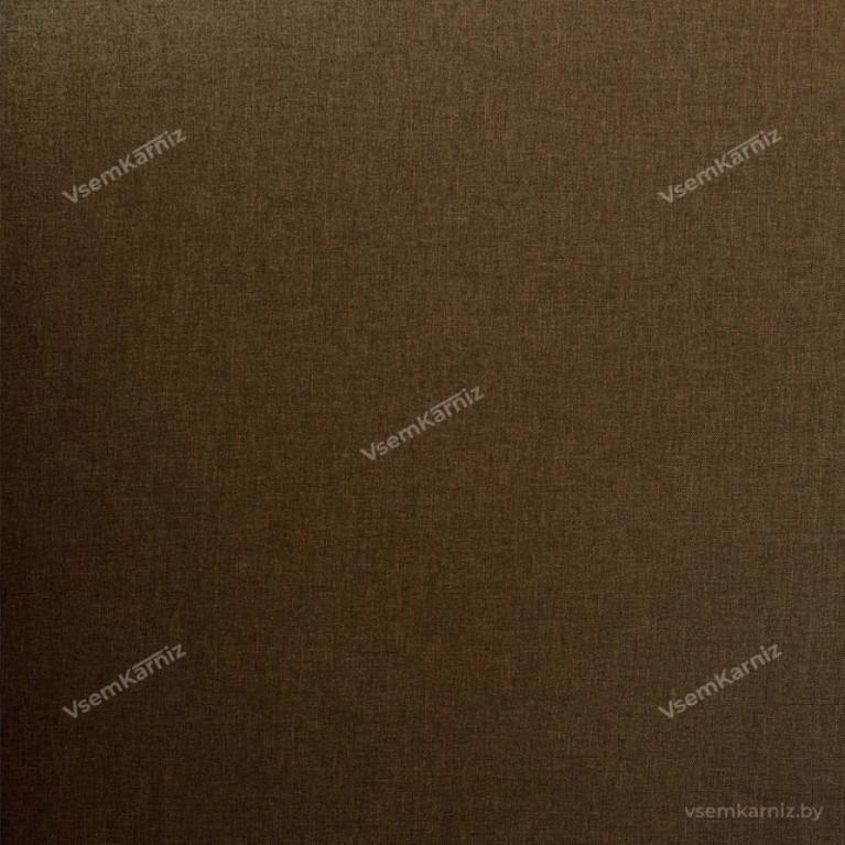 Рулонная штора LmDecor «Урбан 20» Коричневая с комплектом направляющих