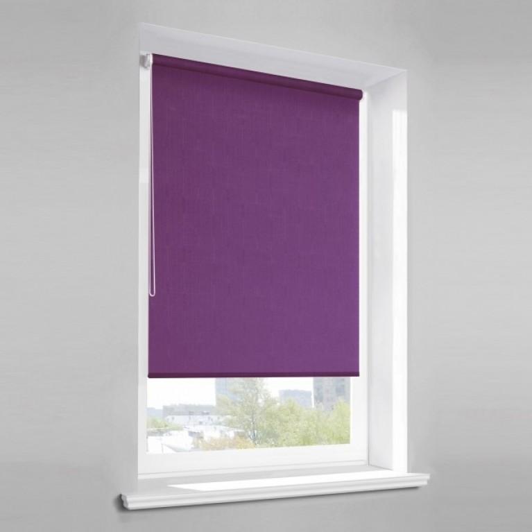 Рулонная штора «Лайт 06» Фиолетовая