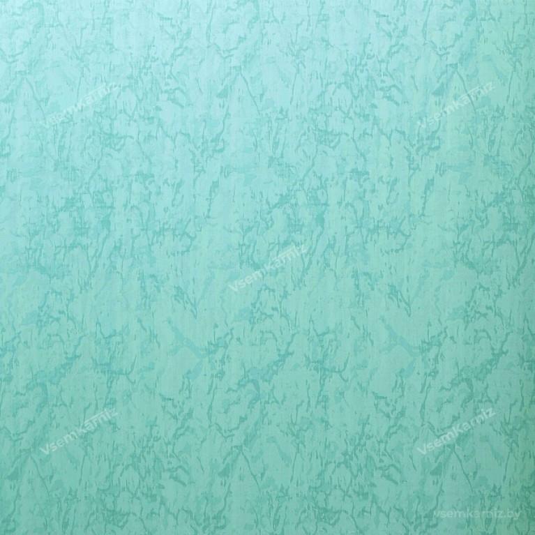 Рулонная штора LmDecor «Жаккард 18» бледно-голубая с комплектом направляющих