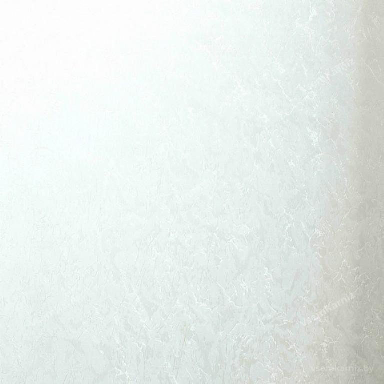 Рулонная штора LmDecor «Жаккард 01» Белая в коробе с направляющими