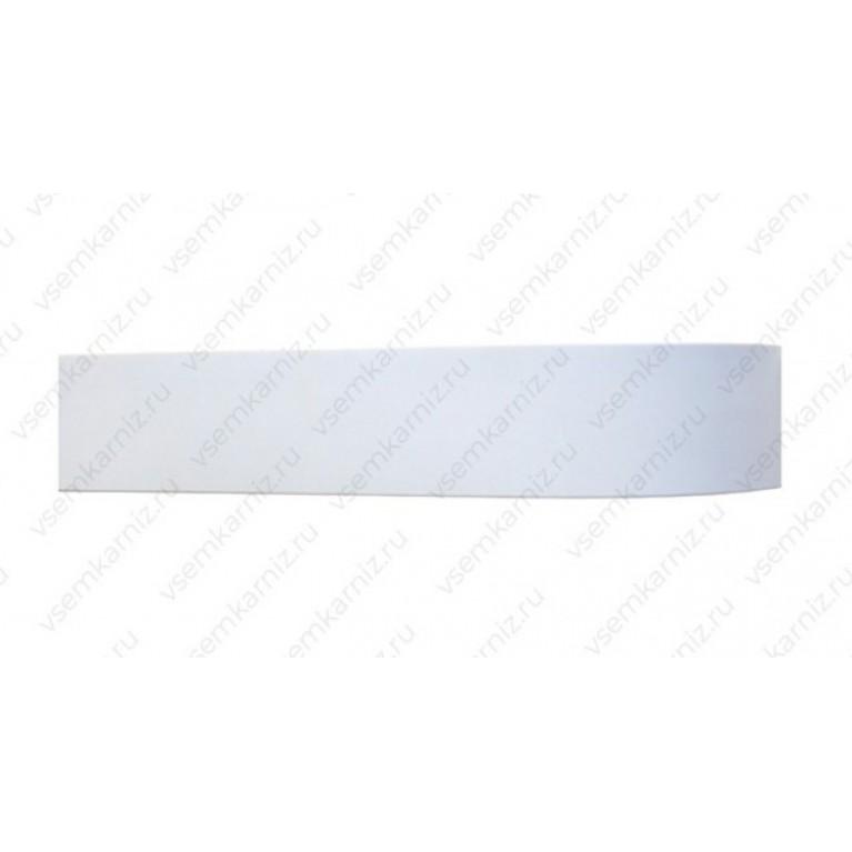 Карниз с багетом  «Белый глянец» 7см