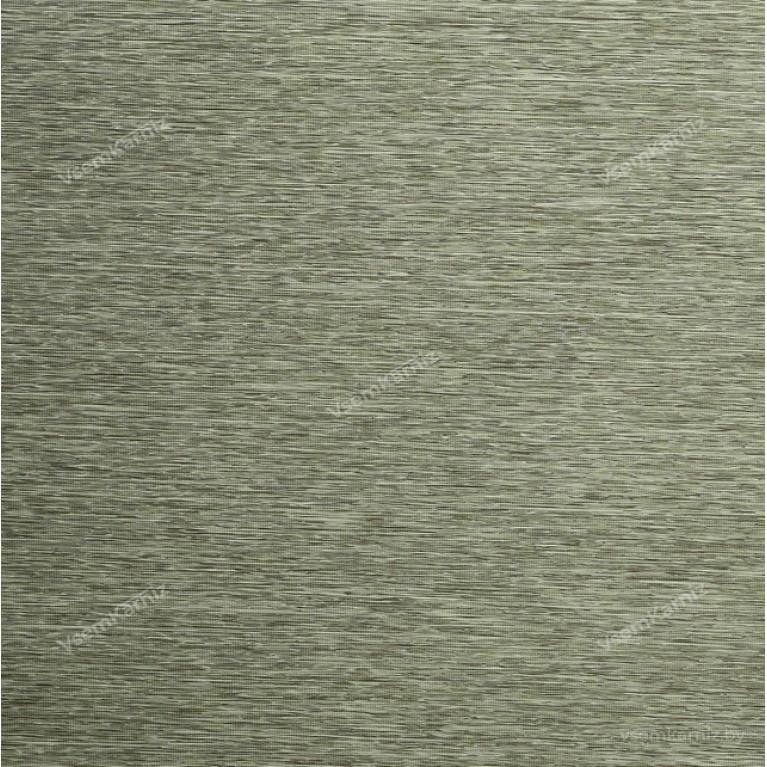 Рулонная штора LmDecor «Кантри 04» оливковая с комплектом алюминиевых направляющих