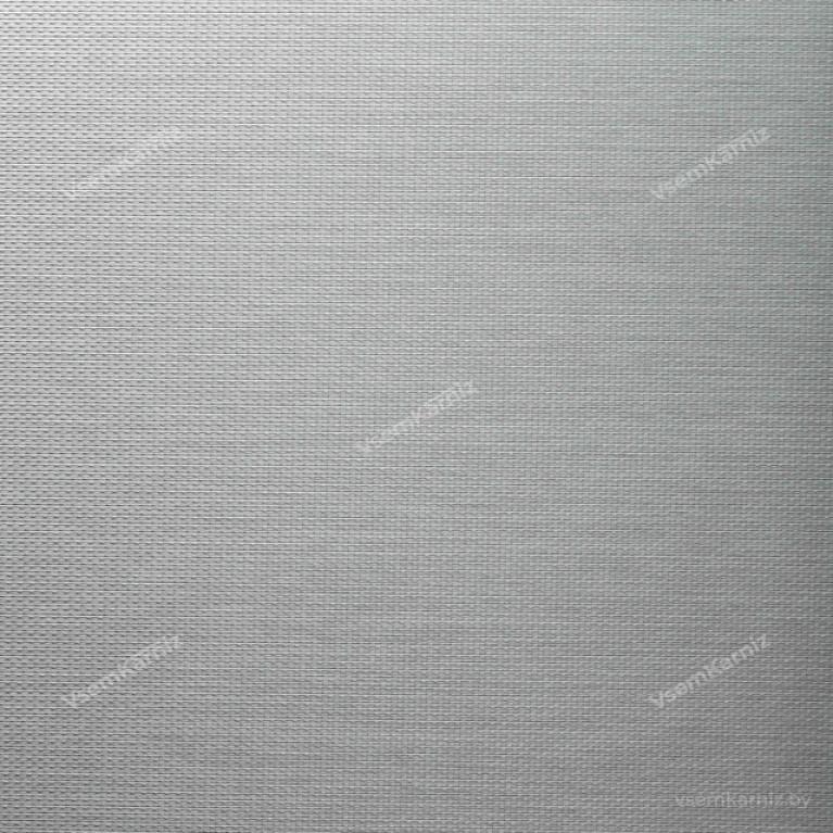 Рулонная штора LmDecor «Камелия 04» серый металлик с комплектом направляющих