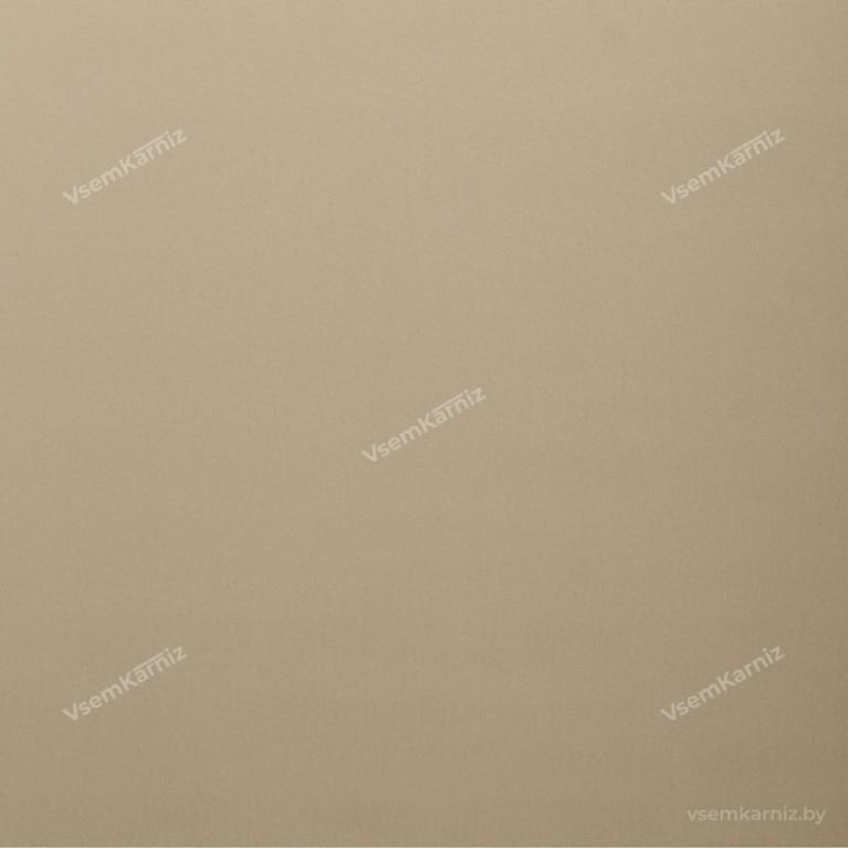 Рулонная штора LmDecor БЛЭКАУТ «Симпл 05» Бежевая UNI 2 в алюминиевом коробе с направляющими