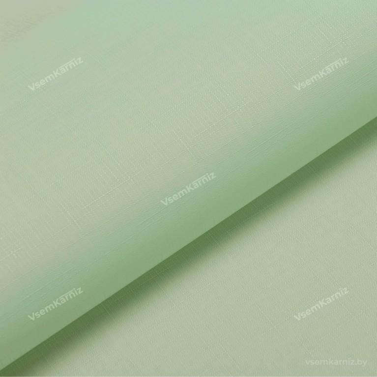 Рулонная штора LmDecor «Лайт 08» мятная с комплектом направляющих
