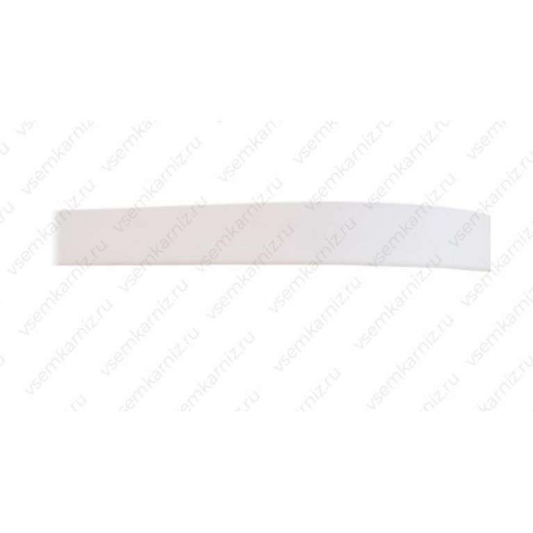 Карниз с багетом «Белый глянец» 5см