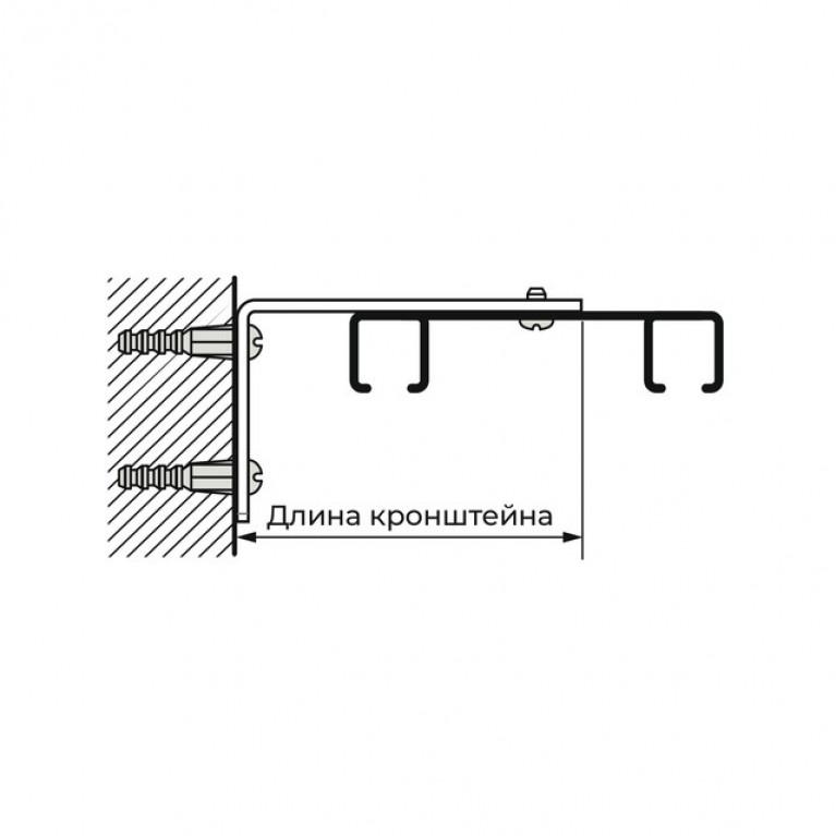 Профиль Алюминиевый D6 «PREMIUM» двухрядный