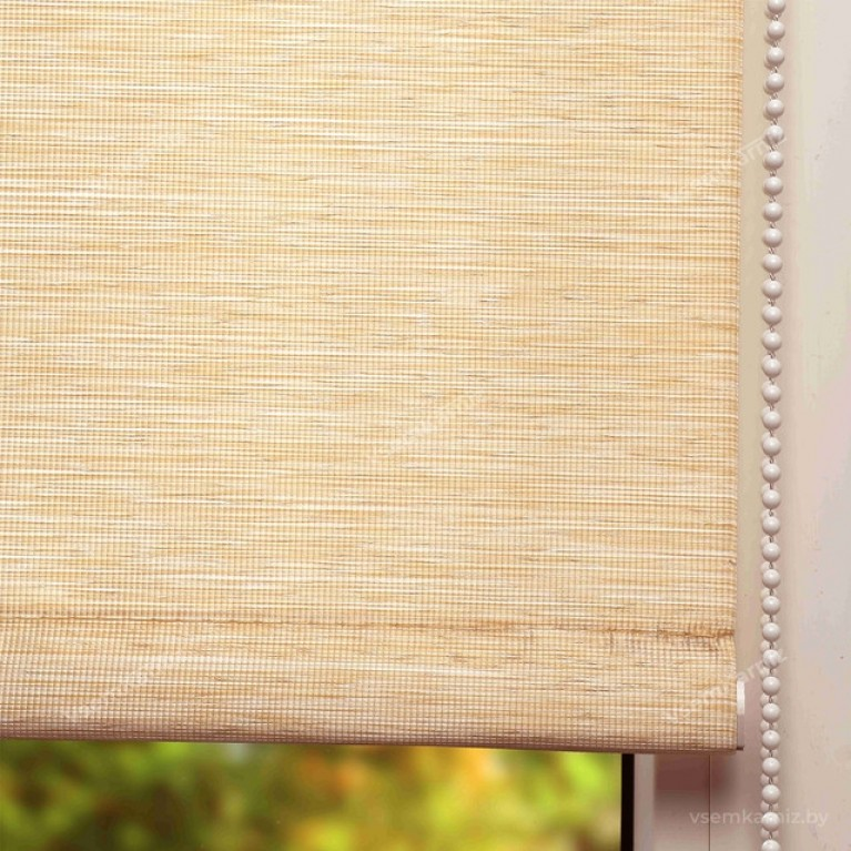 Рулонная штора «Кантри 02» с комплектом алюминиевых направляющих