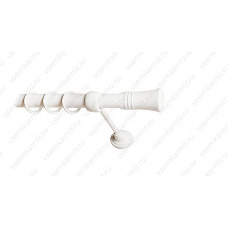 Карниз «Гиро» 25мм Белый глянец