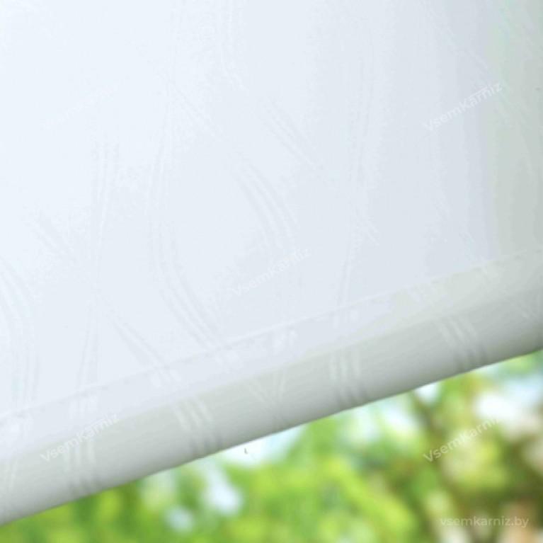Рулонная штора LmDecor «Инфинити 01» Белая