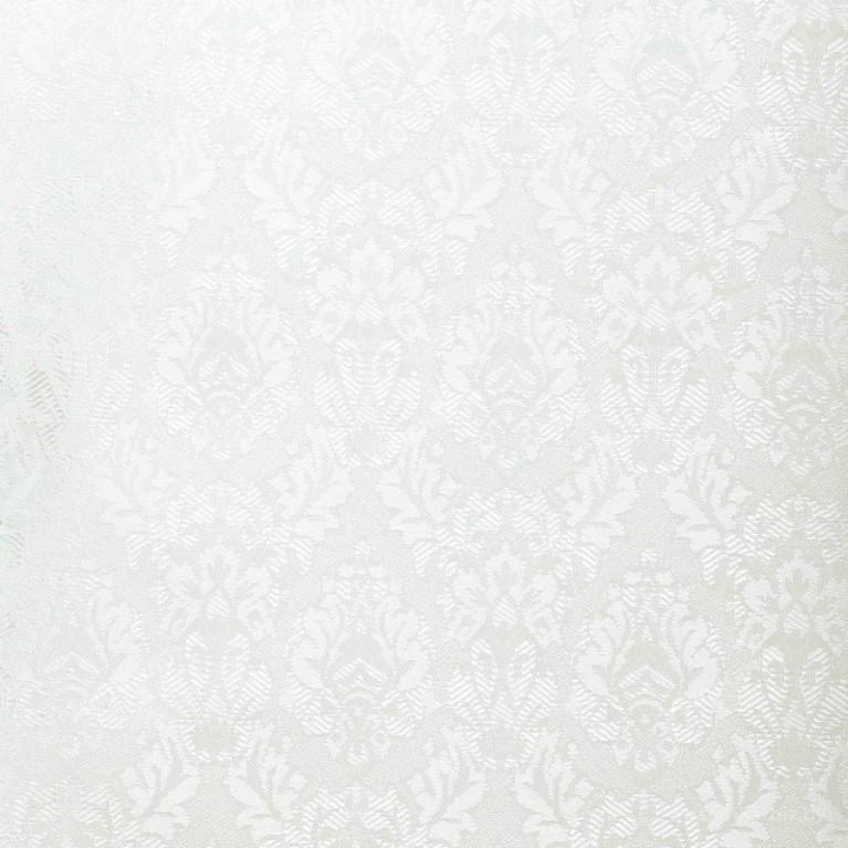 Рулонная штора LmDecor БЛЭКАУТ «Ампир 07» Белая
