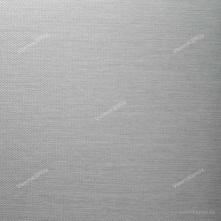 Рулонная штора LmDecor  «Камелия 04» серый металлик в коробе с направляющими