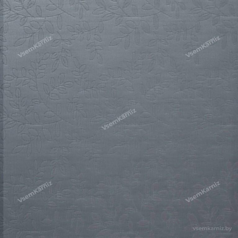 Рулонная штора LmDecor «Сакура 03» Серая с комплектом направляющих