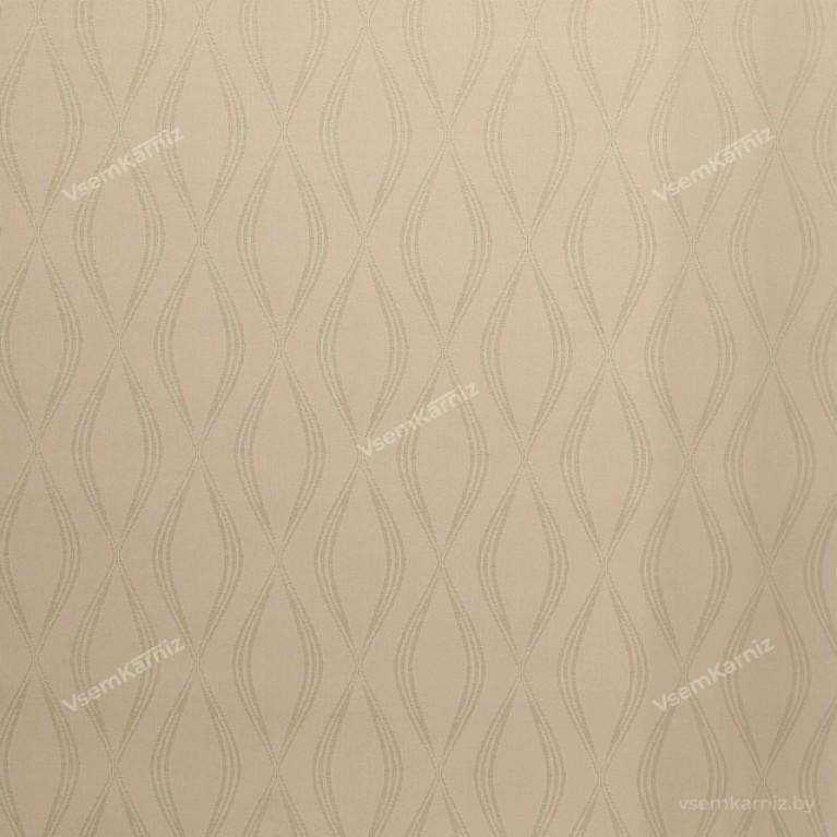 Рулонная штора LmDecor «Инфинити 03» Бежевая с комплектом алюминиевых направляющих