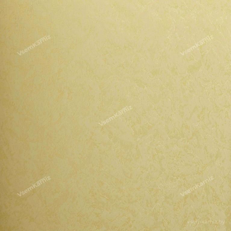 Рулонная штора LmDecor «Жаккард 03» Желтая в коробе с направляющими