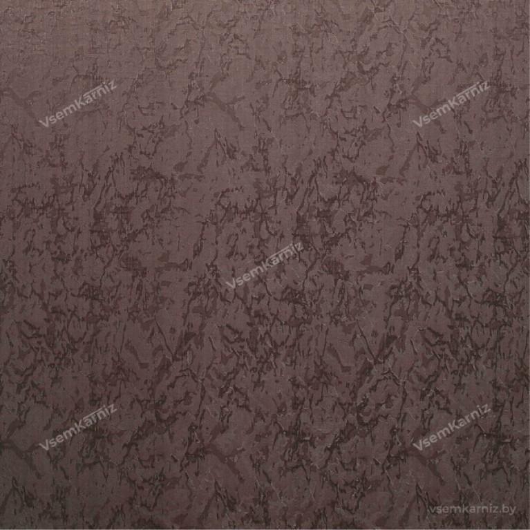 Рулонная штора LmDecor «Жаккард 28» тёмно-шоколадная