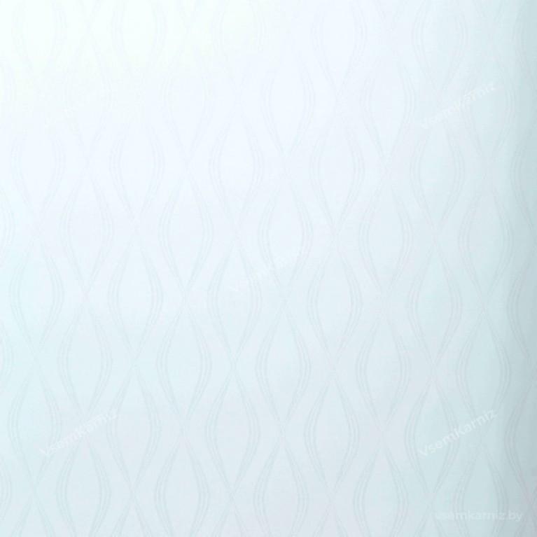 Рулонная штора LmDecor «Инфинити 01» Белая UNI 2 в алюминиевом коробе с направляющими