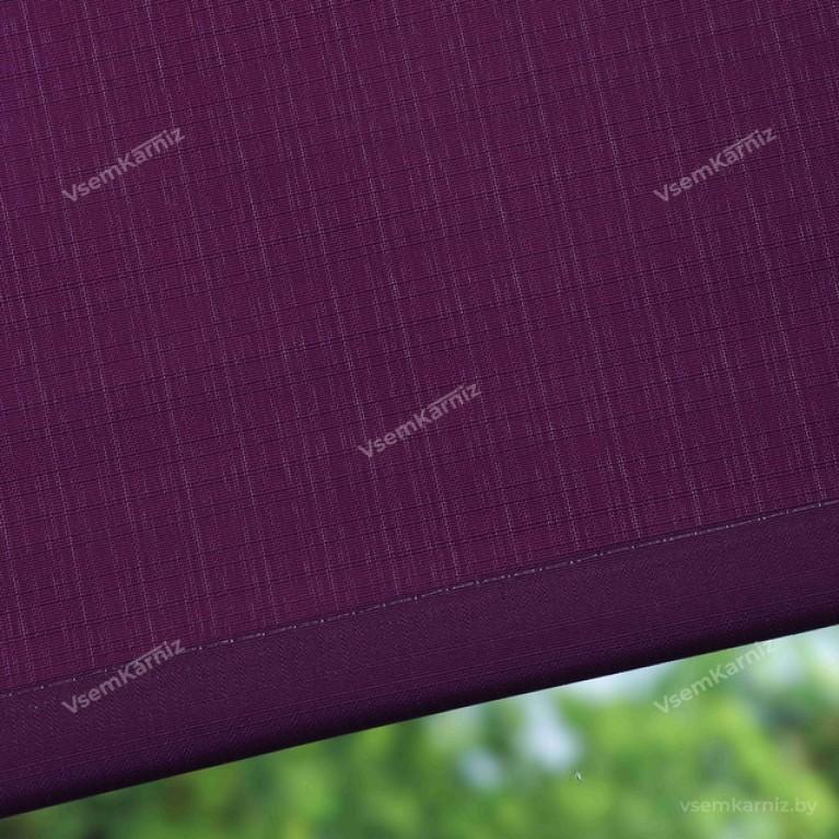 Рулонная штора «Лайт 06» Фиолетовая с комплектом алюминиевых направляющих