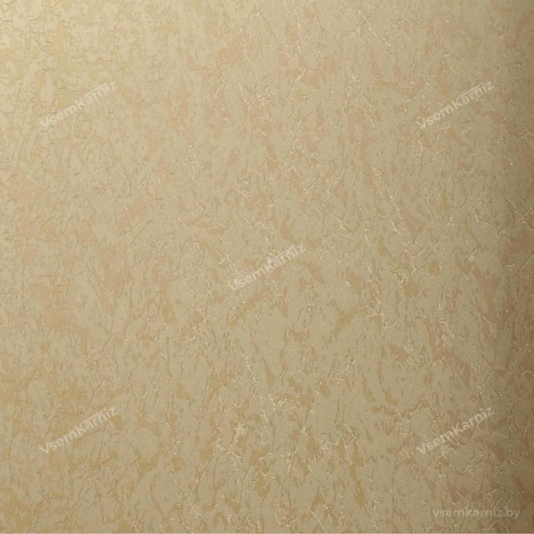Рулонная штора LmDecor «Жаккард 04» Бежевая с комплектом направляющих