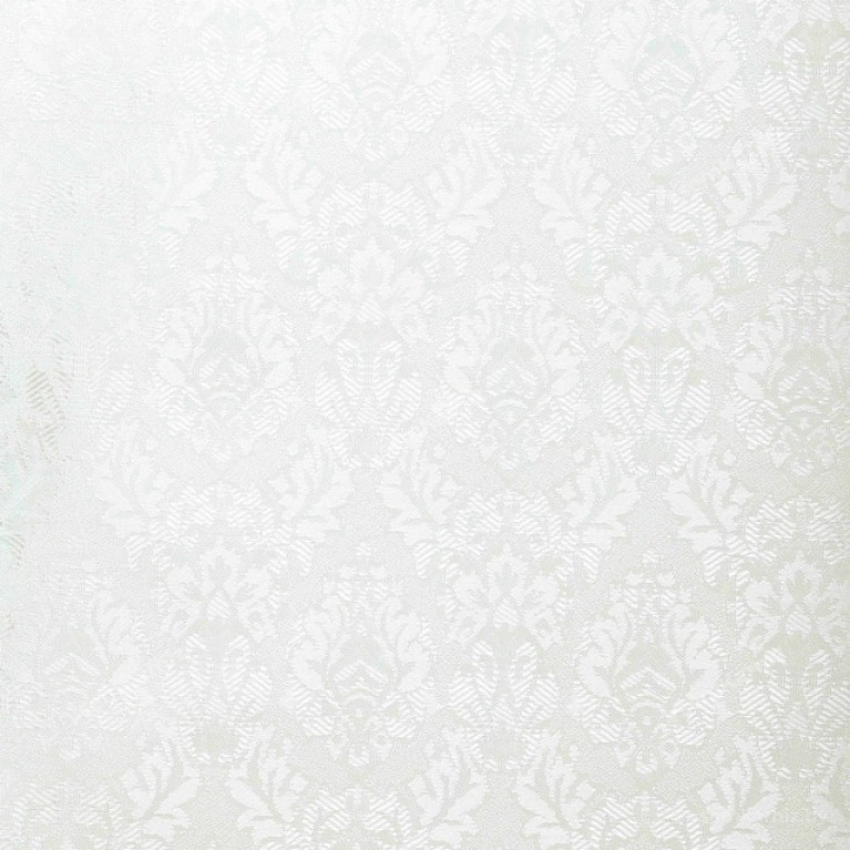 Рулонная штора LmDecor БЛЭКАУТ «Ампир 07» Белая в коробе с направляющими