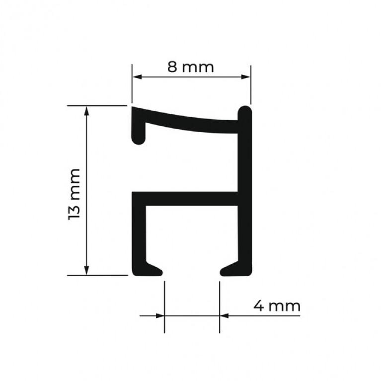 Профиль Алюминиевый D1 «PREMIUM»