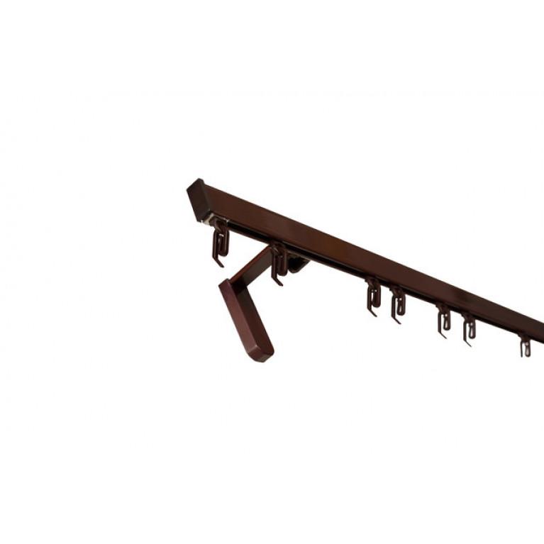 Профиль Алюминиевый D2 «PREMIUM» коричневый