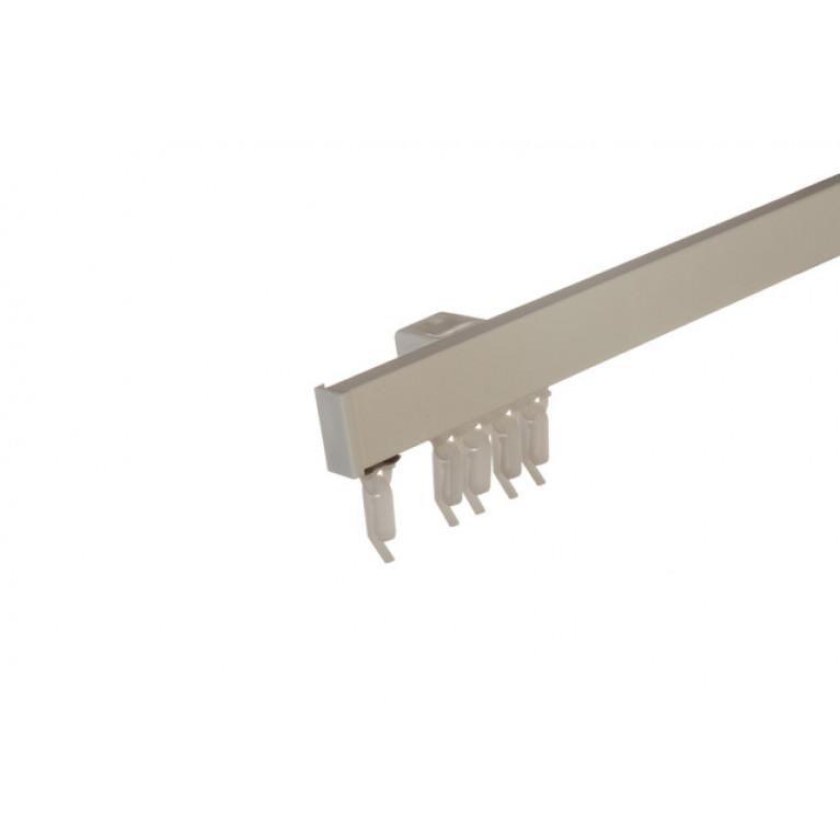 Профиль Алюминиевый D2 «PREMIUM» серый