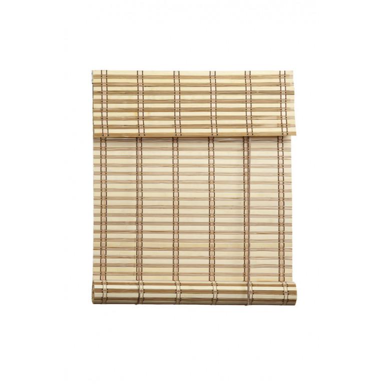 Бамбуковые рулонные шторы 02