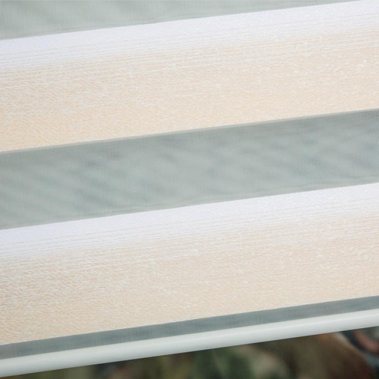 Рулонная штора LmDecor День-Ночь «Дабл 01»  с комплектом направляющих
